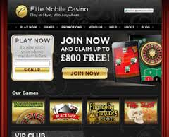 Elite Mobile - No deposit Bonus Casino