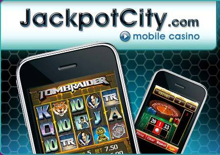 JackpotCity Casino Mobile Payment