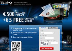 Wild Jack No Deposit Bonus Casino