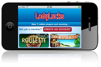 LadyLucks Casino Mobile