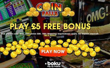 Coinfalls điện thoại trực tuyến Bill Tiền đặt cọc Casino