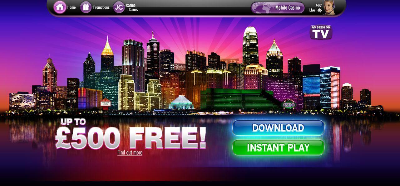 Jackpot City - Free No Deposit Bonus