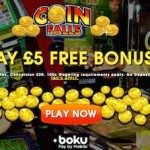 Coinfalls Online Phone Bill Deposit Casino