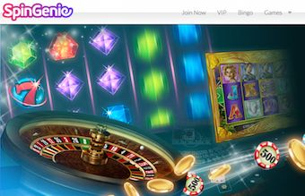 Spin Genie Featured no Deposit Casino Bonus